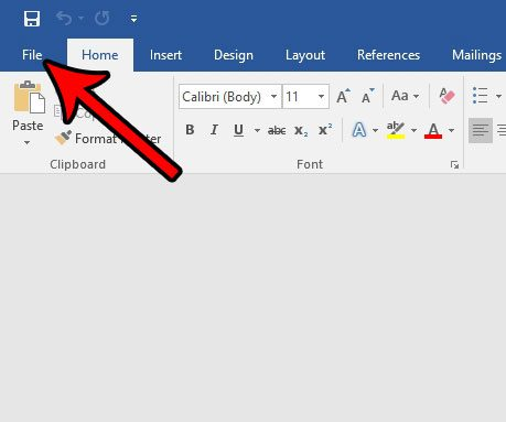 display developer tab in word 2016