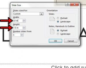 How to Size Your Slides for Legal Paper in Powerpoint 2013
