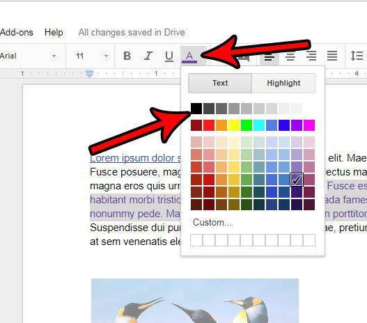 how to remove text color in google docs solve your tech