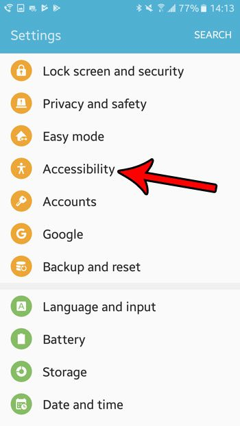how to enable single tap mode on android