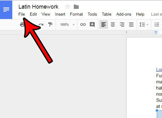 How to Change the Paper Size in Google Docs - Solve Your Tech