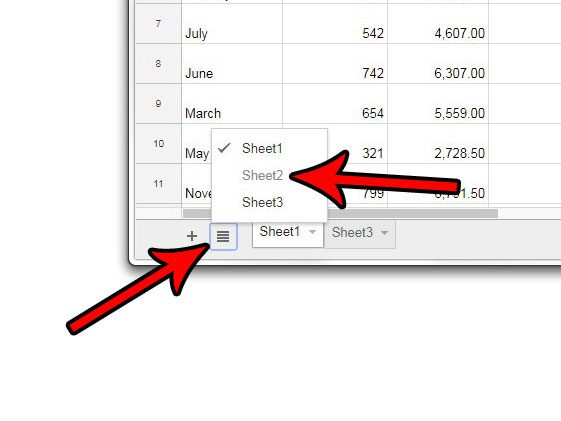 how to unhide a worksheet in google sheets