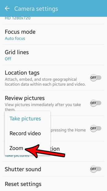 how to zoom with volume buttons android marshmallow