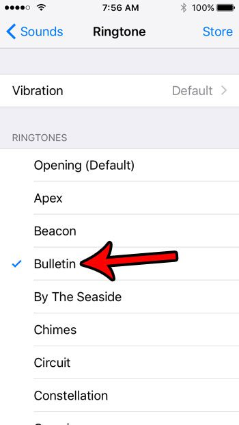 how to change the ringtone on an iphone se