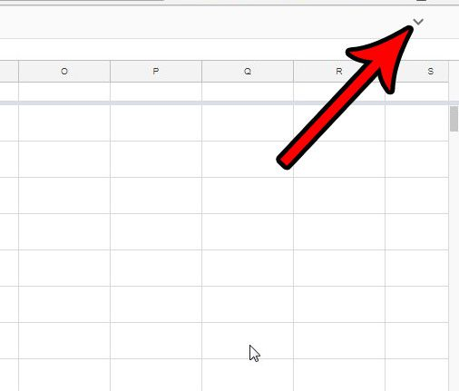 How To Unhide The Menu In Google Sheets