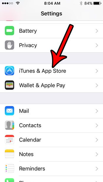 How to enable automatic app updates on iphone