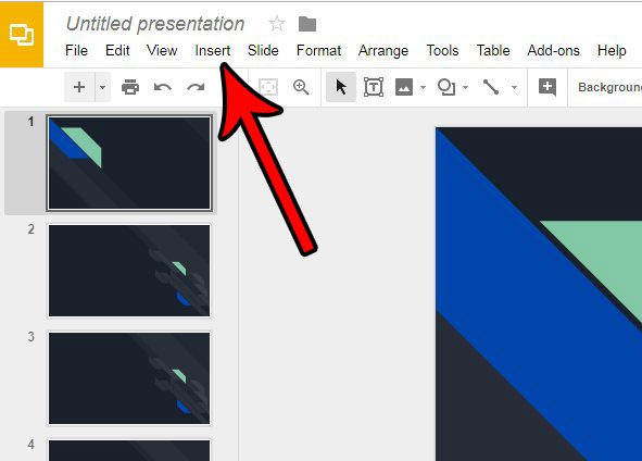 add youtube in google slides