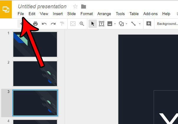 convert google slides presentation to powerpoint