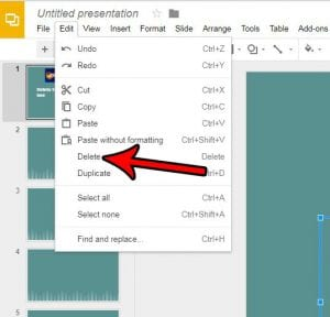 How to Delete a Text Box in Google Slides