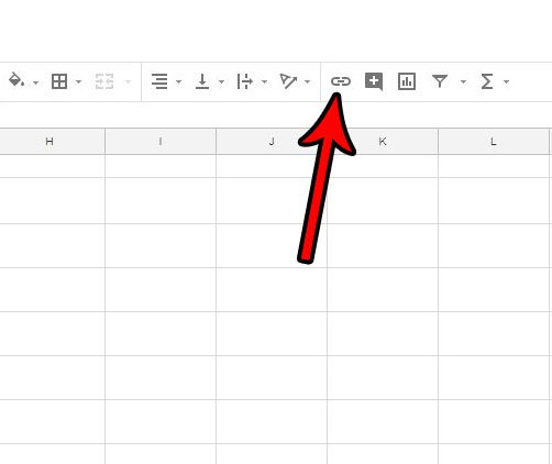 google sheets hyperlinks