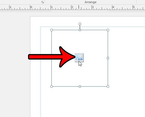 add the picture to the placeholder in publisher 2016