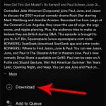how to download a podcast episode in spotify on iphone