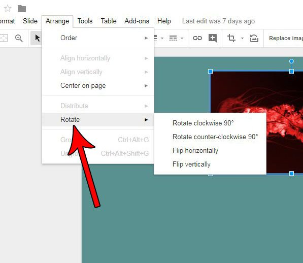 how to rotate a picture in google slides solve your tech