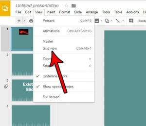 How to View Slides as a Grid in Google Slides