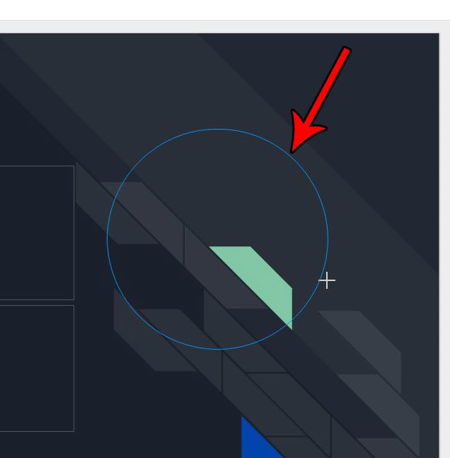 draw the circle in google slides