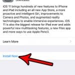 how to install ios 11 on iphone 7