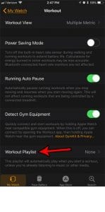 How to Set a Workout Playlist on the Apple Watch