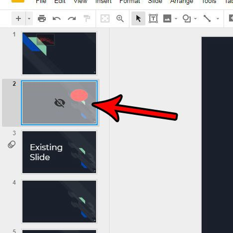 how to stop skipping a slide in google slides