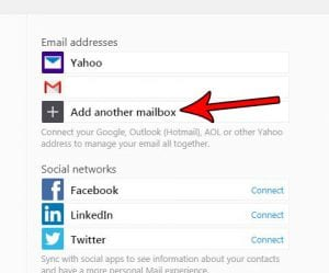 How to Add Another Account in Yahoo Mail