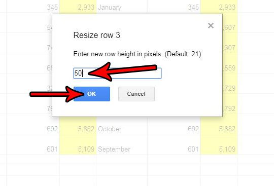 How to Change Row Height in Google Sheets - Solve Your Tech
