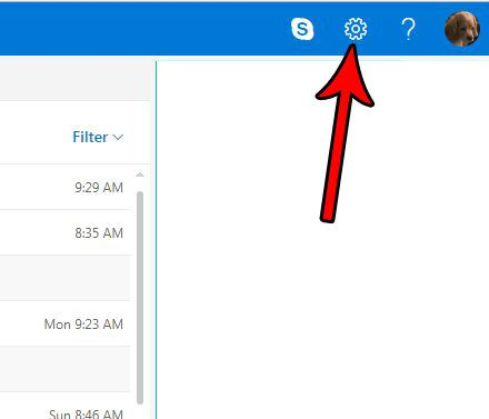 change outlook.com notifications