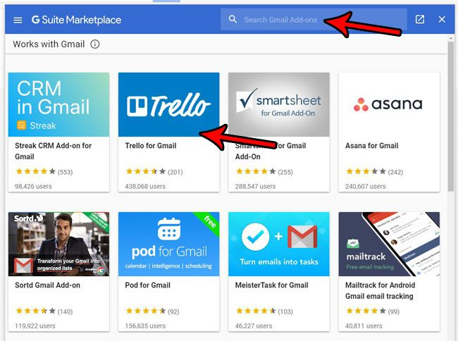 how to find and install gmail apps