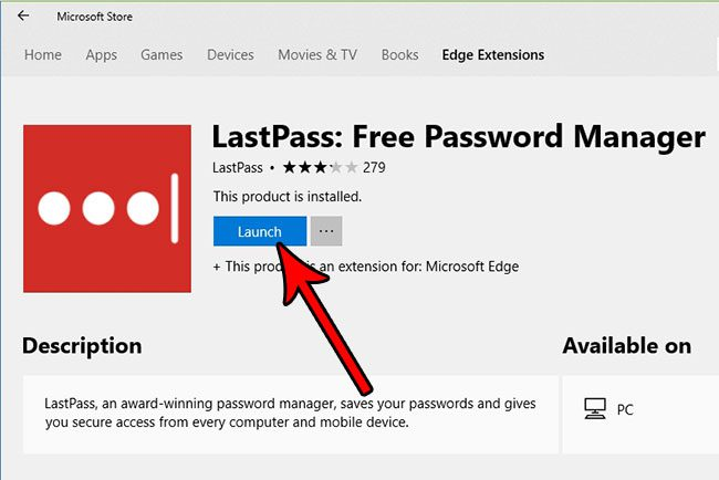 how install extension microsoft edge