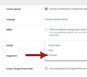 how to show more files in google drive