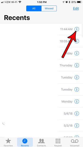 how block number that called you on iphone