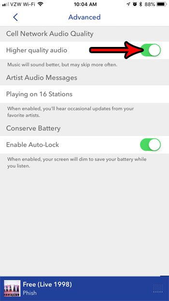 How to Increase Audio Quality in Pandora on an iPhone