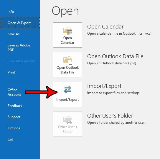 outlook 2016 folder backup