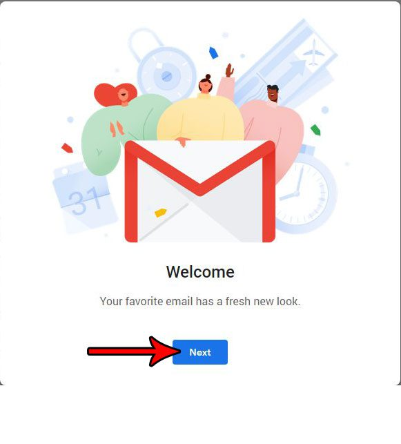 how to switch to the new gmail