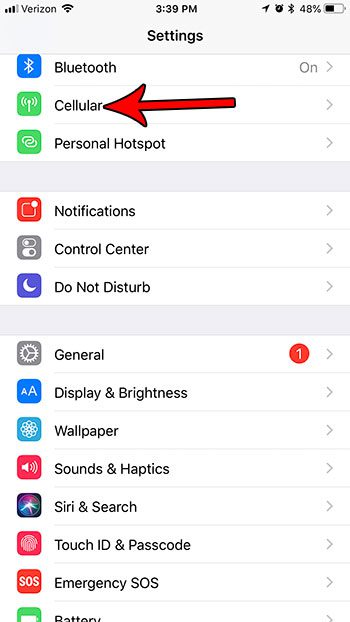 block netflix cellular data usage iphone