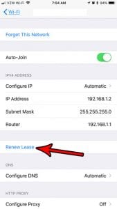 Renew Lease Wifi – How to Renew Your Wireless Connection on an iPhone 7