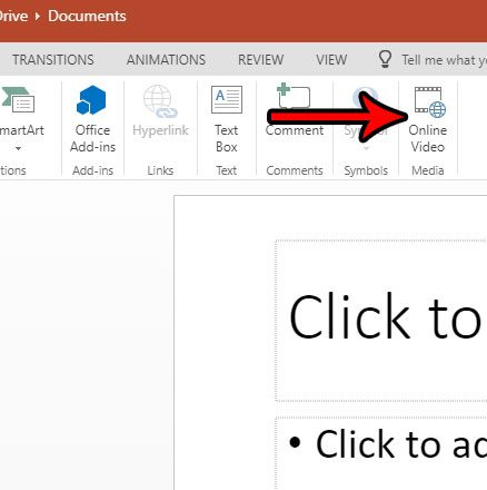 powerpoint online how to add video