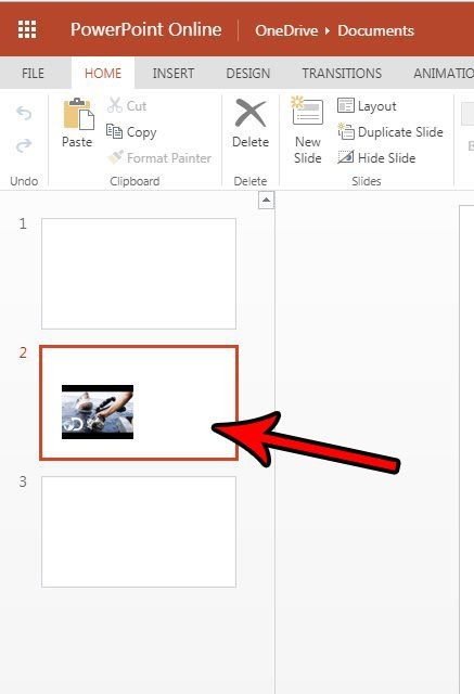 how to make a copy of a slide in powerpoint online