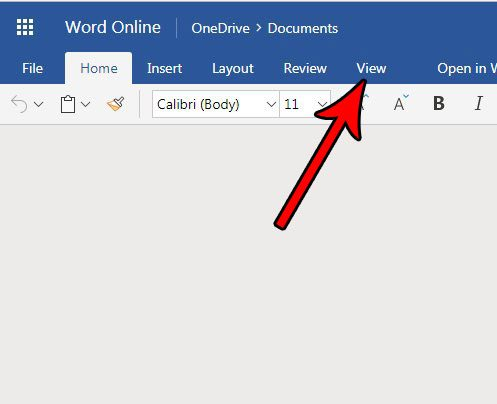 show or hide page ends word online