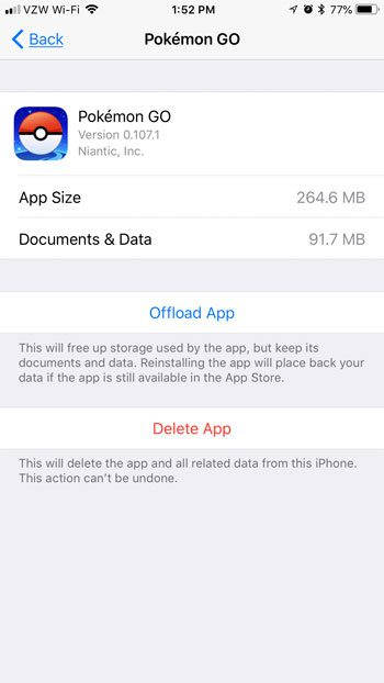 How Much Free Space Do I Need to Install Pokemon Go on My iPhone