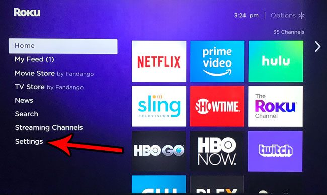 turn roku premiere plus off and on again