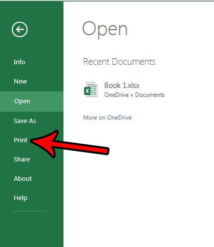 can i change page orientation in excel online