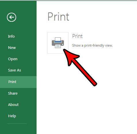 switch between portrait and landscape in excel online