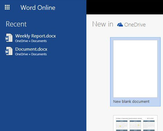 word online pdf conversion