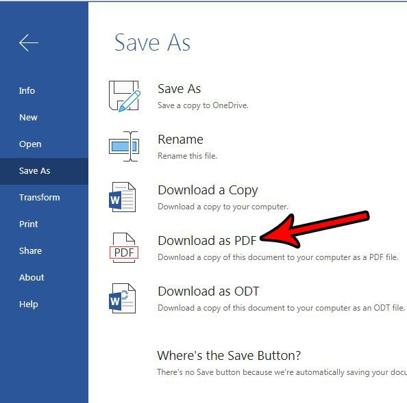 How to Save as a PDF from Word Online - Solve Your Tech