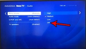 How to Turn Off Menu Clicks on the Roku TV