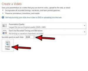 how convert powerpoint to mp4 powerpoint 2013