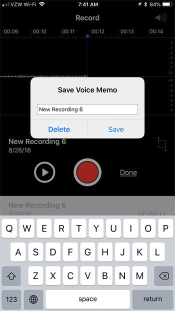 How to Easily Record Sound on an iPhone 7 - Solve Your Tech