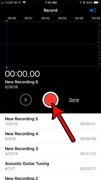how to easily record sound on iphone 7