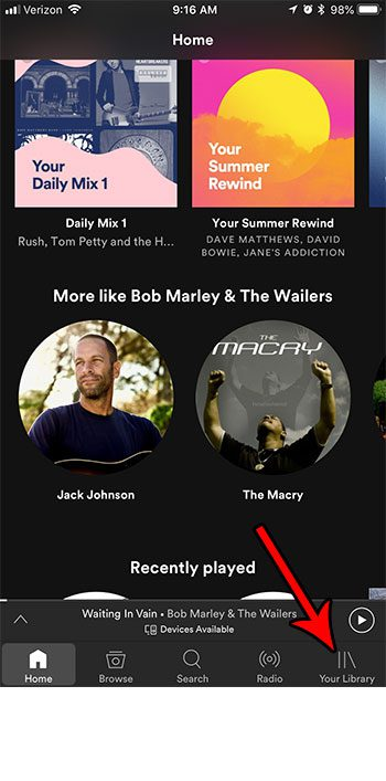 enable audio normalization spotify iphone