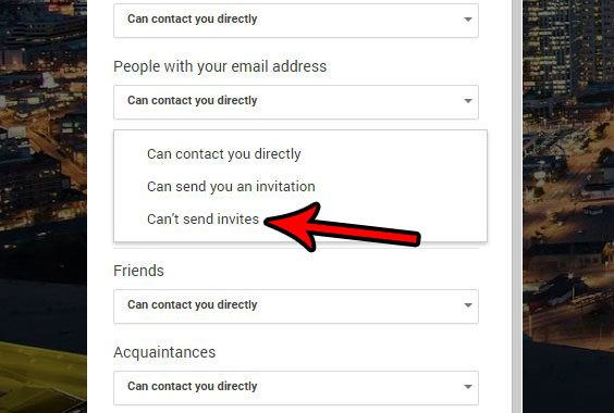 how to stop strangers from sending you invitations in google hangouts