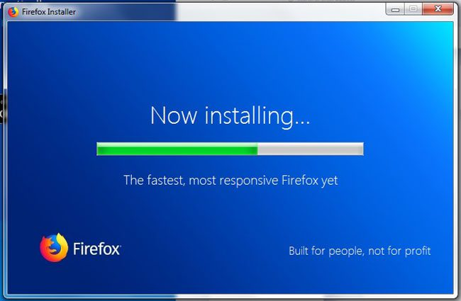 installing firefox in windows